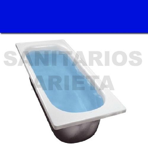 bañera chapa acero enlozada 150x70 reforzada antideslizante