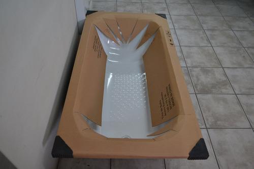 bañera chapa enlozada acero 160 x 70 x 39 antideslizante