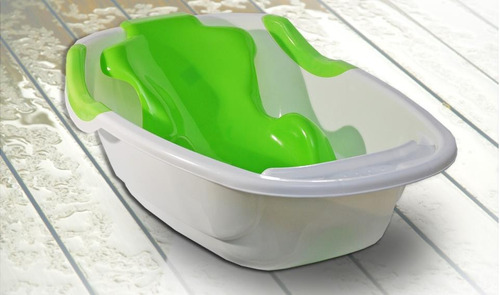 bañera con adaptador para bebes colombraro