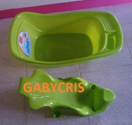 bañera de bebe con soporte