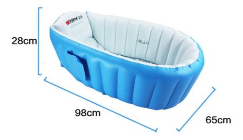 bañera de bebé inflable portátil babybath+bomba gratis! g2