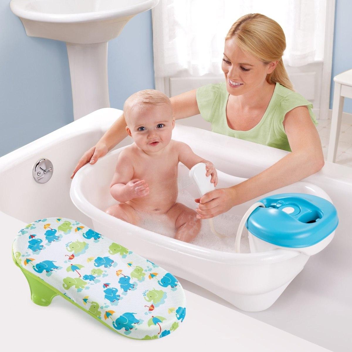 ba era de lujo para bebe con regadera summer infant k 1 en mercado libre. Black Bedroom Furniture Sets. Home Design Ideas
