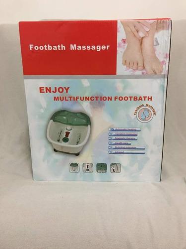 bañera masajeadora para pies