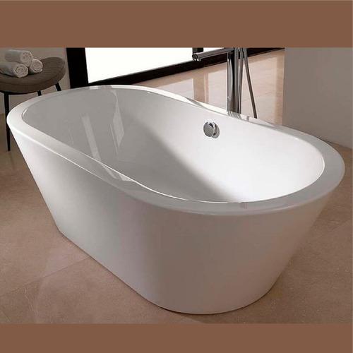 bañera minimal curva blanca 170x80x60