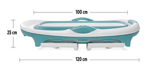 bañera plegable grande felcraft para bebe niños o adultos