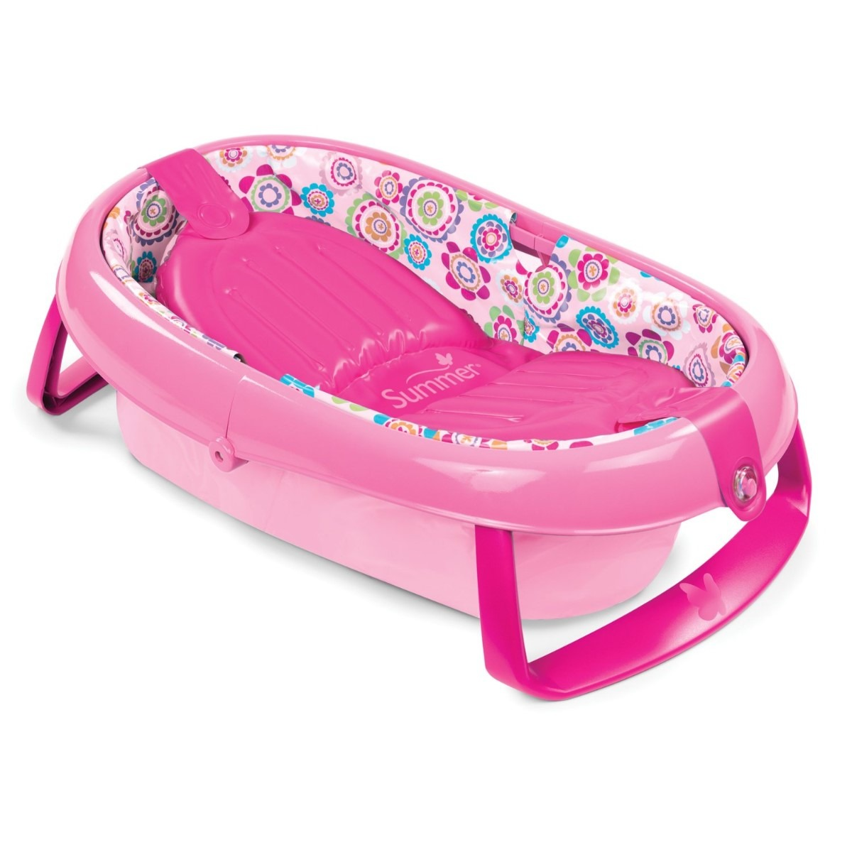 banera summer infant plegable para bebe respaldo inflable