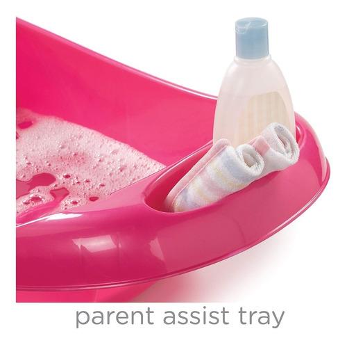 bañera tres etapas de niña rosado summer   s19395