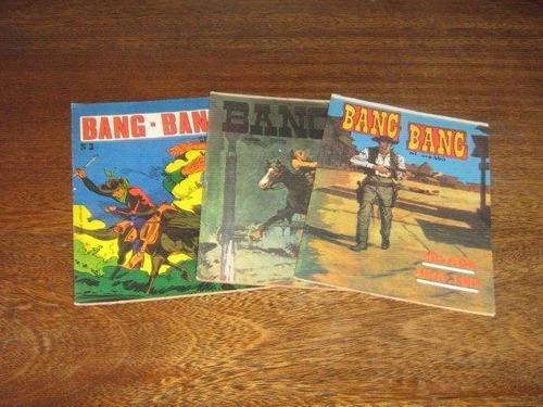 bang-bang nºs 1 ao 3 ed gorrion coleção completa ano:1973