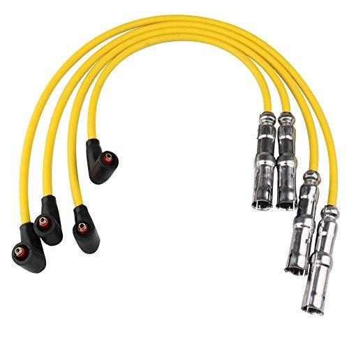 bang4buck 4 piezas  mm spark plug wire set para vw escaraba