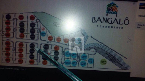 bangalô delfinópolis -vende-se terreno - te0041
