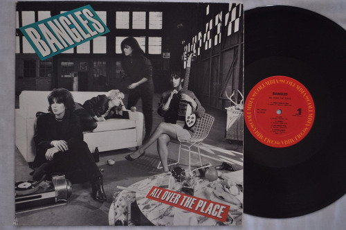 bangles, all over the place, lp, vinil