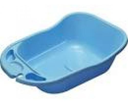 banheira 34litros - azul bebe