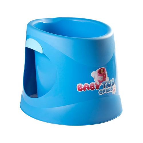 banheira babytub ofurô - de 1 à 4 anos - azul - baby tub