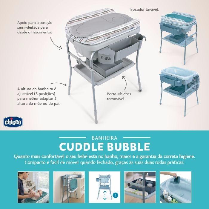 0f4b577521 ... cuddle bubble wild chicco. Carregando zoom... banheira bebê banho com  trocador