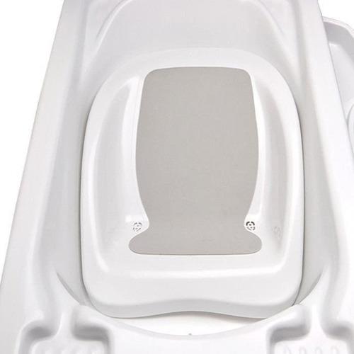 banheira bebe plastica branca com suporte galzerano redutor
