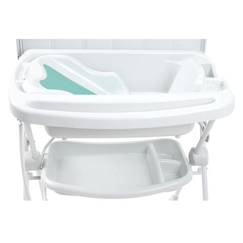 banheira com suporte e trocador splash! - branca - burigotto