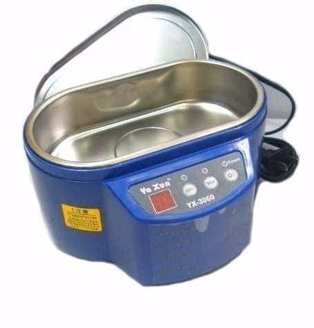 banheira cuba ultrassonica limpeza yaxun 3060 110v 220v