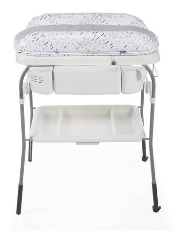 banheira cuddle & bubble cool grey - chicco