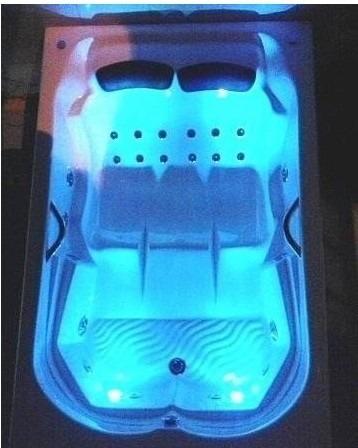 banheira  dupla jacuzzi com aquecedor promoção 49