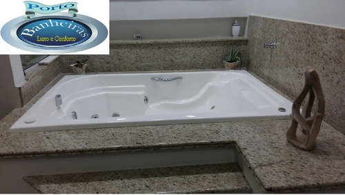 banheira hidromassagem completa, conforto, brilho e garantia
