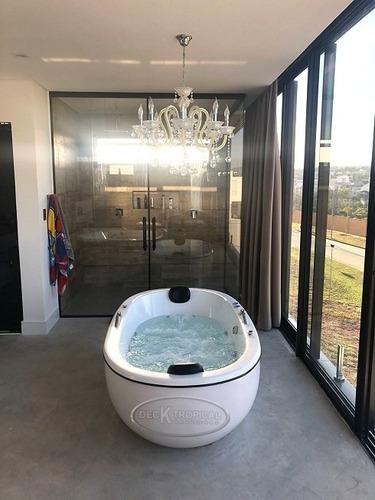 banheira olimpia dupla com hidro + aquecedor + cromoterapia