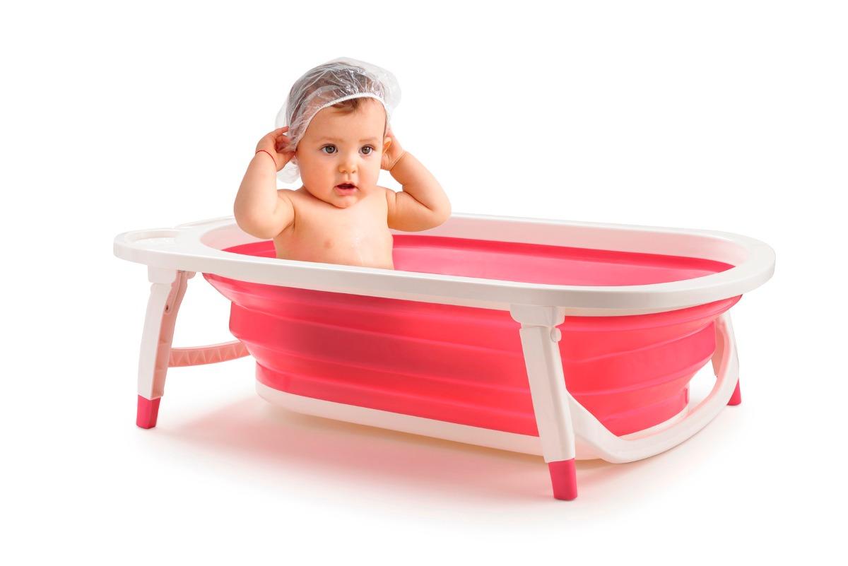 Banheira para bebe dobravel menina flexi bath bb160 r for Beb it