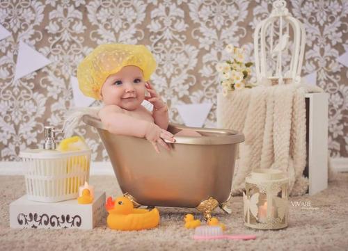 banheira para fotografia newborn e acompanhamento - novo