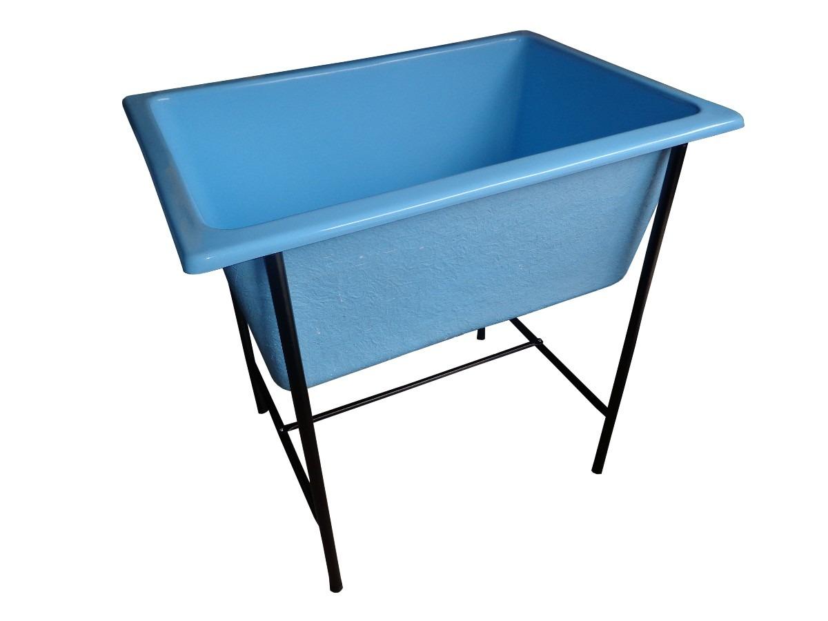 #114A7E Banheira Pequena Em Fibra De Vidro R$ 485 00 em Mercado Livre 1200x900 px Banheiro Em Fibra De Vidro 3265