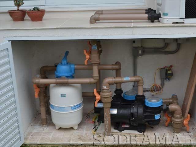 Instalador de banheiras de hidromassagem spa e ofuro for Bomba para piscina con filtro