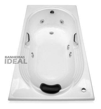 banheiras ideal pronta entrega  dupla 180 x 120 - r$ 1373,00