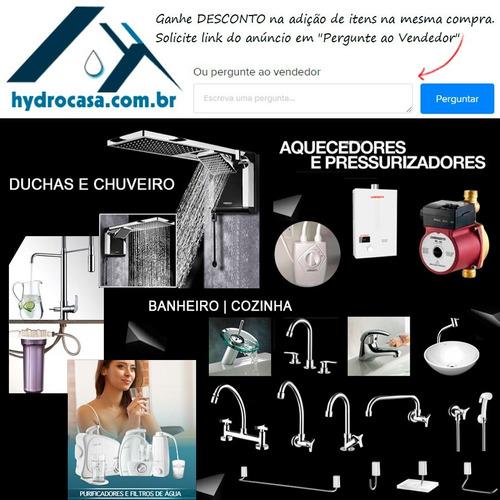 banheiro aço kit
