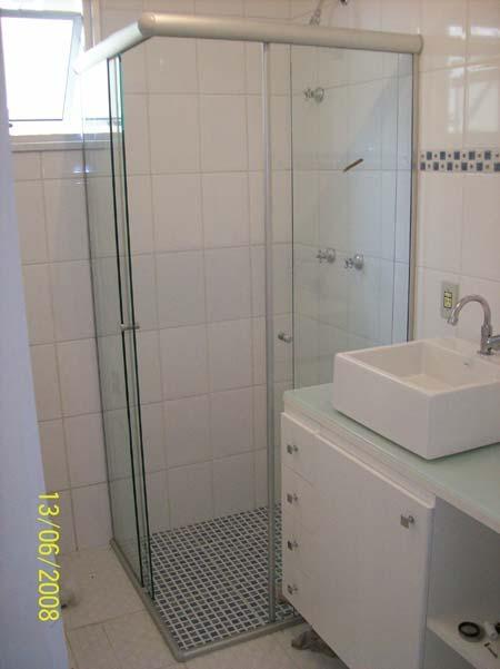 Box Banheiro Em Vidro Temperado 8 Mm Casa Verde E Zona Norte  R$ 210,00 em M -> Box Para Banheiro Pequeno Mercado Livre