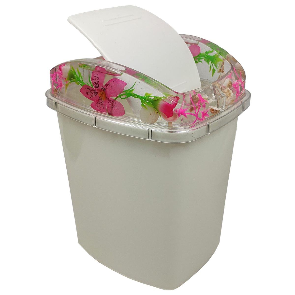 Acessórios Para Banheiro Acrílico Decoração Flutuante 5 Peça - R ... a7b42b8e013