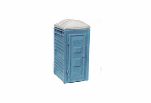 banheiro químico maquete 1:87 cod 02 - perez ferromodelismo