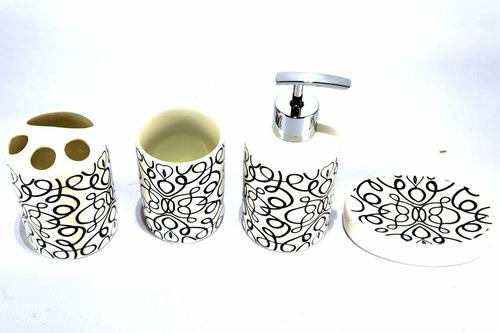 banheiro utensílios kit