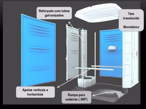 banheiros quimicos locação