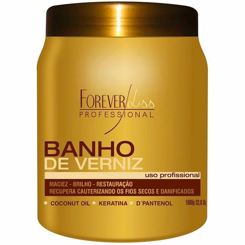 banho verniz 1kg - hidratacao intensa #bompreco e frete