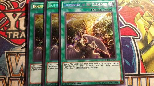 banishment of the darklords - playset - original - yugioh