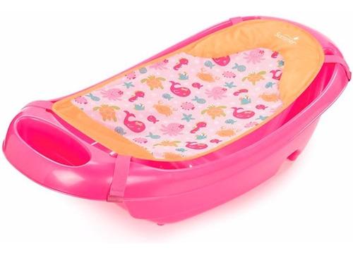 bañito con reposera rosa summer