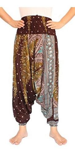 banjamath pantalone harem aladino hippie diseño pavo