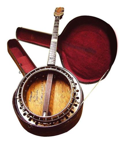 banjo artesanal de 1933