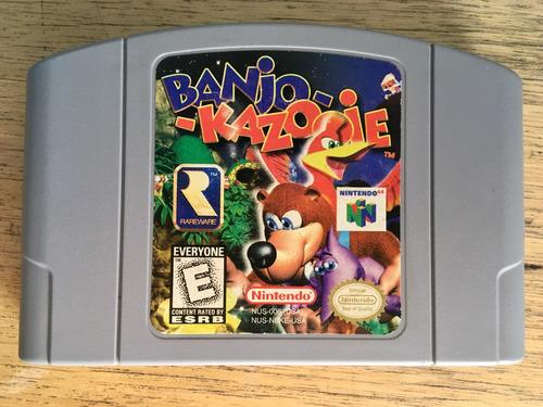 banjo kazooie nintendo 64