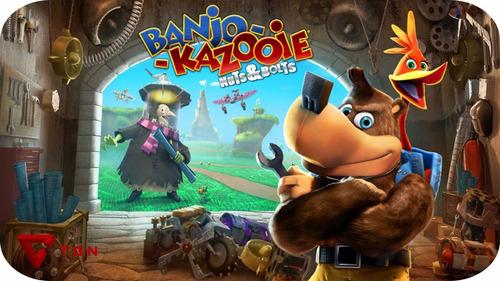 banjo-kazooie: nuts & bolts xbox 360 - licencias