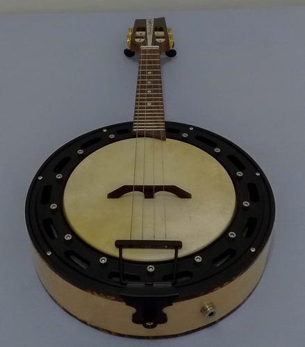 banjo marcelo luthier faia laminado 6.5