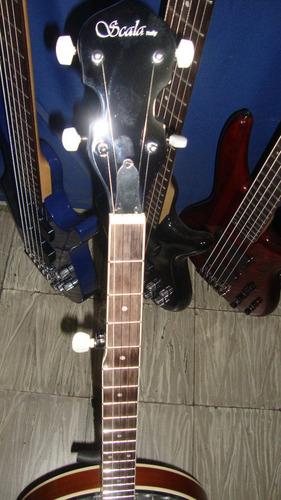 banjo scala bj-008 5 cuerdas con estuche duro