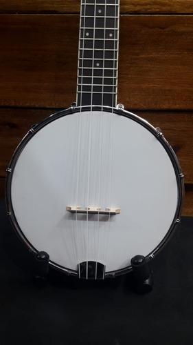 banjolele ukelele jl30 kanele c/ funda cuerdas aquila sapele