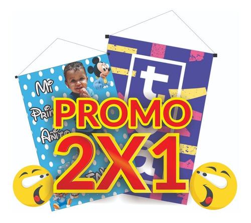 banner colgante 2x1 lona  envío gratis