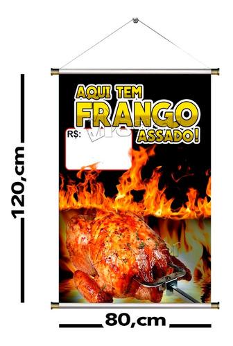 banner divulgação 80x120 - material lona 440g