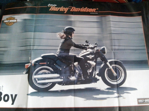 banner harley davidson   70x50 varios modelos