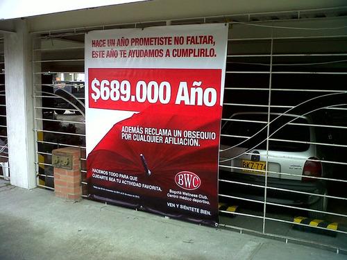 banner impreso  mas economico del mercado $13.000 mt2